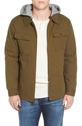 Brixton Men's Canton Jacket With Detachable Hood