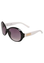 Anna Field Sunglasses Black White Temple