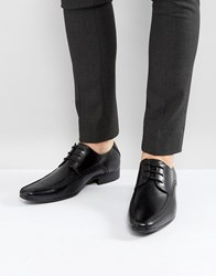 New Look Lace Up Shoe In Black Black