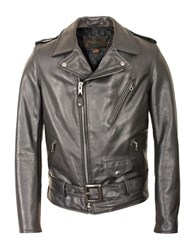 Schott 50S Perfecto Motorcycle Jacket Black