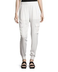 Romeo And Juliet Couture Relaxed Fit Cargo Pants Ivory