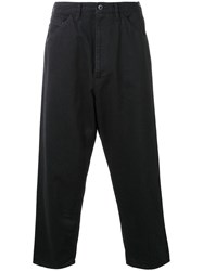 Bukht 'Big Denim Ow' Trousers Black