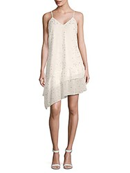 Collective Concepts Spaghetti Strap Shift Dress White