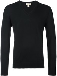 Burberry Elbow Pad Detail Jumper Black