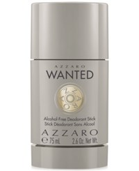 Azzaro Wanted Deodorant 2.6 Oz Only At Macy's No Color