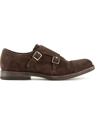 Henderson Fusion Monk Shoes Brown