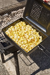 Urban Outfitters Outdoor Popcorn Popper Black