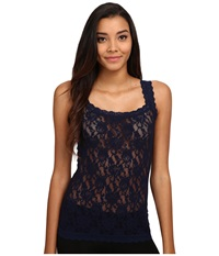 Hanky Panky Signature Lace Unlined Cami Navy Women's Underwear