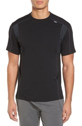 Tasc Performance Men's Charge Semi Fitted T Shirt Black Gunmetal