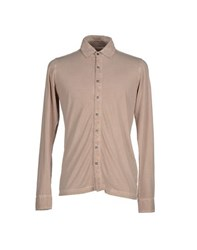 Alpha Massimo Rebecchi Shirts Shirts Men Beige