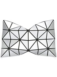 Issey Miyake Bao Bao Triangles Make Up Bags Metallic