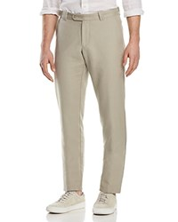 Bloomingdale's The Men's Store At Canvas Regular Fit Pants 100 Exclusive Stone