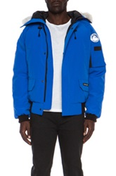 Canada Goose Pbi Chilliwack Poly Blend Bomber In Blue