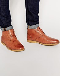 New Look Lace Up Desert Boots Tan