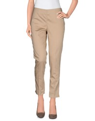 Clips More Trousers Casual Trousers Women Sand