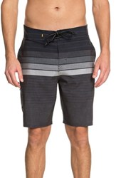 Quiksilver Waterman Collection Admiral Stripe Board Shorts Black
