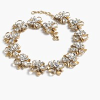 J.Crew Crystal Blossom Necklace