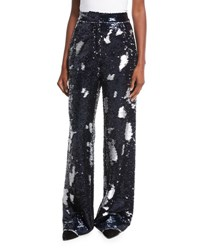 Libertine Sequin Embellished Trousers Multi