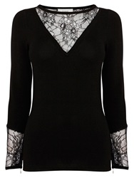 Coast Imogen Knit Top Black