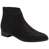 Ted Baker Makin Chelsea Pointed Toe Ankle Boots Black