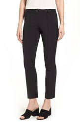 Brax Maron Straight Leg Seamed Pants Black