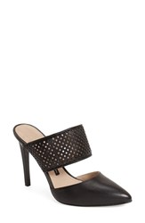 Women's French Connection 'Mollie' Sandal Black Leather