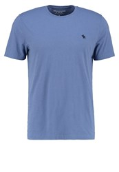 Abercrombie And Fitch Basic Tshirt Moonlight Blue Grey