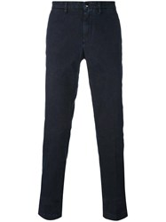 Etro Slim Fit Trousers Blue
