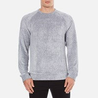 Ymc Men's Terry Sweatshirt Blue