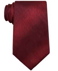 John Ashford Sharkskin Solid Tie Red