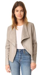Bb Dakota Peppin Vegan Leather Drapey Jacket Toffee