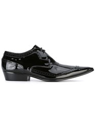 Haider Ackermann Brogue Detailed Lace Up Shoes Men Leather 42 Black