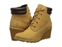Timberland Earthkeepers Amston 6 Boot Wheat Women's Lace Up Boots Tan
