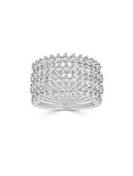 Saks Fifth Avenue Ideal Cut Diamond And 14K White Gold Ring