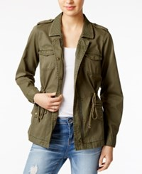 Maison Jules Cotton Utility Jacket Only At Macy's Aged Pine