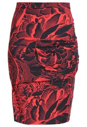 Just Cavalli Mini Skirt Red