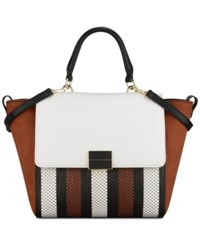 Nine West Dyonne Satchel Black Multi