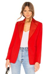 Joseph Steed Blazer Red