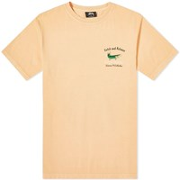Stussy Catch And Release Pigment Dyed Tee Orange