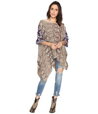 Free People Fressia Embellished Pullover Neutral Combo Women's Clothing Multi