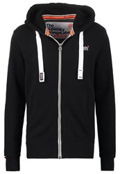 Superdry Tracksuit Top Jet Black