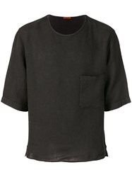 Barena Chest Pocket T Shirt Black