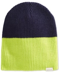 Neff Duo Beanie Lime Navy