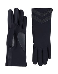Isotoner Stretch Tech Gloves Navy Blue