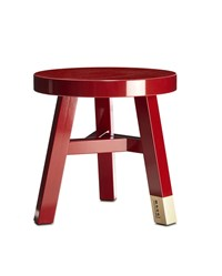 Moooi Common Comrades Merchant Side Table Red