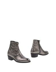 Alexander Hotto Ankle Boots Silver