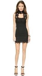 Nightcap Clothing Florence Lace Chapel Dress Black