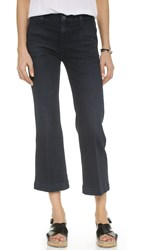 Ag Jeans The Layla Cropped Jeans 1 Year Faded Black