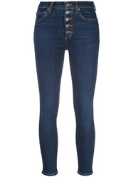 Veronica Beard Cropped Jeans Blue