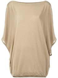I'm Isola Marras Oversized Top Metallic